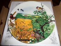 The Village In The Valley Collectors Plate Wedgwood Boxed