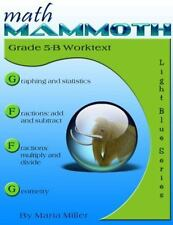 Math Mammoth Grade 5-B Worktext: By Miller, Maria