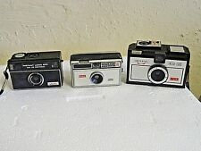 Lot of 3 Vintage Camera's Kodak 100, Imperial 126 & 900 Untested