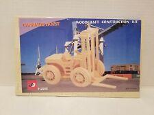 Carriage Hoist Woodcraft Construction Wooden 3D Model Kit HJ046