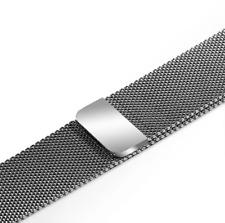Bracelet Apple Watch milanais acier inoxydable 42/44 mm - Argent