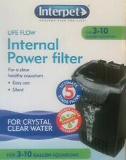 Interpret Life Flow Power Filter For Crystal Clear Water 3-10 Gallon Aquariums