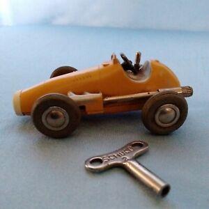 Vintage Schuco 1040 Micro Racer Ferrari Wind up Cast Toy Car w/key WORKS Germany