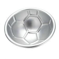 2Pcs Ball Cake Mold Soccer Ball Half Round Tin Pan Baking Decorating Icing Pop