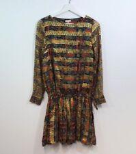 Manoush gold robe imprimée Taille