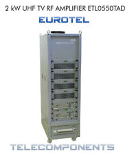 2 Kw EUROTEL  TV Transmitter NTSC/Pal  Analog  broadcast transmisor 380V 3phase