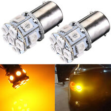 2X 1156 BA15S P21W 13 SMD 5050 LED Ámbar/Amarillo Tail Turn Signal Car Light 12V