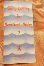 Going Boating in NSW - Vintage Pamphlet