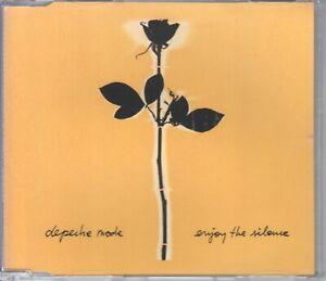 Depeche Mode  CD-SINGLE  ENJOY THE SILENCE  ( 3inch )   GELBE