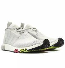 Adidas NMD Racer PK Primeknit Boost Grey Solar Pink CQ2443 Size7 Brand New Mens