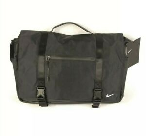 Nike Elite Eugene Elite Premium Messenger Laptop Bag Crossbody PBZ745 010 NWT