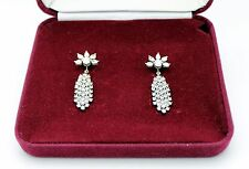 Camrose & Kross Jacqueline Kennedy Swarovski Crystal Waterfall Drop Earrings