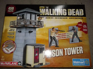 AMC The Walking Dead Prison Tower 459 pcs New works with Lego