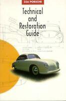 356 Porsche Technical Restoration Guide Book Manual