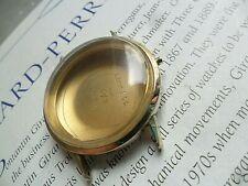 Vintage 1960's Men's Girard Perregaux 10k Gold Filled Swiss Watch Case & Crystal