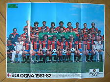 BOLOGNA CALCIO POSTER 1981/82 NEUMANN GUERIN SPORTIVO