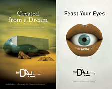 Two Different 2011 Salvador Dali Musem Grand Opening Posters