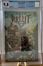 Dead Rabbit 1 CGC 9.8 Big Time Collectibles Edition Recalled Variant Dead Eyes