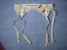 Vintage Farr West 4501 Pastries Lace Garter Belt Size Medium in Ivory