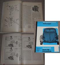 Auto-Reparaturanleitung VOLKSWAGEN Verlag Bücheli um 1965