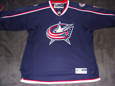 Official Reebok Nhl Columbus Blue Jackets Ice Hockey Team Collector's Jersey 3Xl