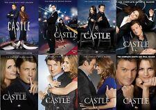 Castle Complete Seasons 1-8 ( 2016, DVD) Series 1 2 3 4 5 6 7 8