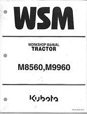 Kubota M8560, M9960 Tractor Workshop Service Repair Manual 9Y111-06863*