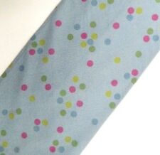 Blue Polka Dot Cotton Tie