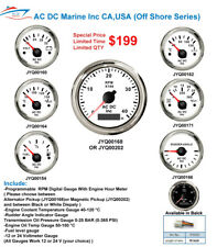 Marine Gauge Diesel gauges set of 7