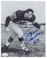 1960's PACKERS Fuzzy Thurston signed 8x10 photo w/ #63 JSA COA AUTO Autographed