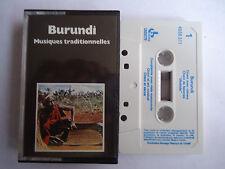 K7 CASSETTE AUDIO BURUNDI - Musique traditionnelles - VOIR LISTE