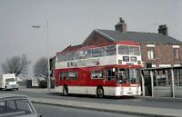 PHOTO Manchester Leyland PDR2/1 1053 LNA153G at Moston in 1969 - Apr-69
