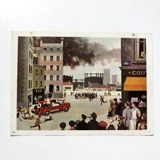 Ancienne grande affiche scolaire Fernand Nathan 1967 - vie quotidienne n°19 -