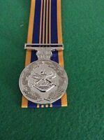 Replica Defence Long service Medal Australia Full Size, Mini & Ribbon Bar #medal