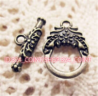 P534 12sets Antique Bronze Toggle Clasps For Necklace Bracelet Clasp accessories