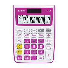 Casio Mj-12Vc-Rd Electronic Calculator Mj12Vc Red