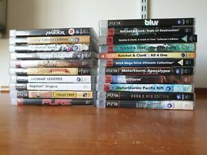 Job Lot of 21 Sony Playstation 3 (PS3) Games with Manuals - Superb condition