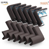 12Pcs Soft Baby Proofing Corner Guards Table Desk Corner Edge Cushion Protectors