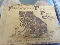 "Vintage Postcard Book 50 Cards Yellowstone ""All I Did Was Hug A Little"" Bear"