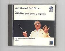(CD) Halfter: Versus, Concierto Para Piano y Orquesta / Caro;Frankfurt Radio Sym