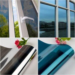 2M Home Tinting One Way Mirror Glass Window Tint Film UV Reflective Heat Blocker