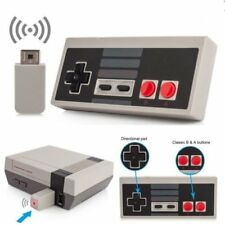 Wireless Controller Grip Gamepad Für Nintendo Mini NES Classic USB Rechargeable