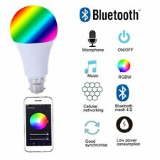 B22 Smart Bulb Wireless WiFi App Remote Control Light for Alexa Google Home UKGT