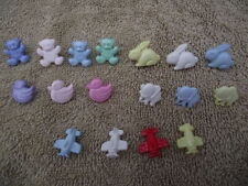 Unbranded Plastic Baby Cardmaking & Scrapbooking Buttons