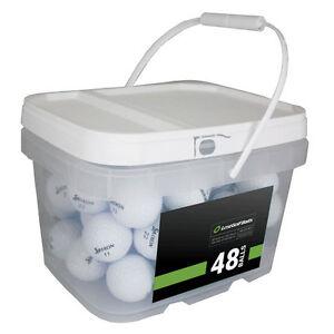 48 Srixon Z-Star Mint Used Golf Balls AAAAA *In a Free Bucket!*