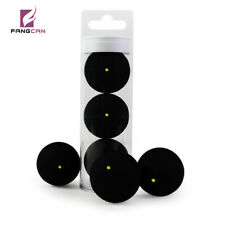 FANGCAN 3PC/Tube Slow Speed Rubber One Yellow Dot Squash Ball for Improver