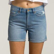 High Waist Lee Machine Washable Shorts for Women