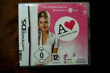 Anna und die Liebe - Das Spiel - Nintendo DS Komplett in OVP mit Handbuch