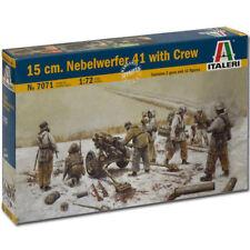 ITALERI 1/72 FIGURES NEBELWERFER W/CREW