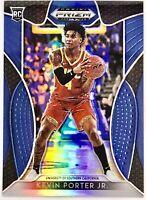 2019-20 Panini Kevin Porter Jr. Silver Blue Prizm Rookie Card RC Houston Rockets